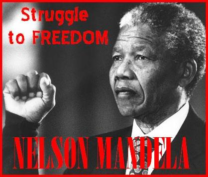the method of struggle of nelson mandela Mandela: an audio history is the award-winning radio series documenting the struggle against apartheid through intimate first-person accounts of nelson mandela.